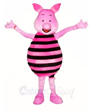 Winnie the Pooh Pink Piglet Pig Mascot Costumes Animal Cartoon