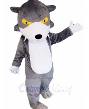 Gray Wolf Mascot Costumes Animal