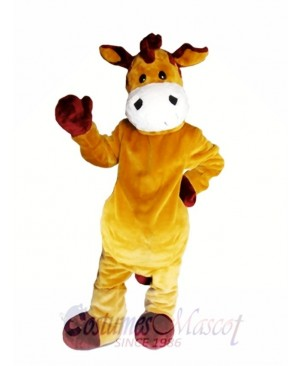 Brown Zebra Mascot Costume Brown Horse Mascot Costumes