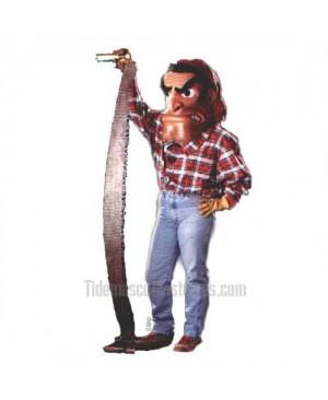 Lumberjack Mascot Costume