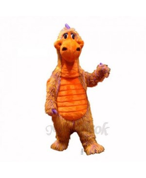 Skittles with Multicolored Fur Mascot Costume