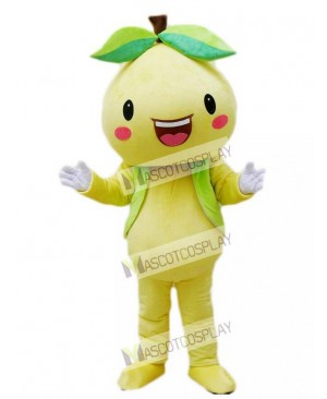 Yellow Pomelo Shaddock Grapefruit Mascot Costume