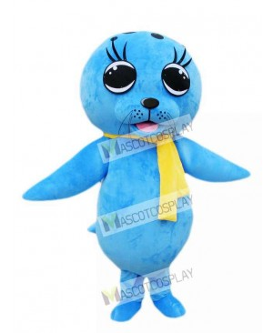 Cute Sea Lion Seal Mascot Costume