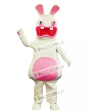 Rayman Raving Rabbit Easter Bunny Mascot Costume