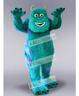High Quality Adult Blue Monster Mascot Costume