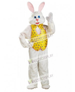 White Bunny Easter Rabbit Mascot Costume