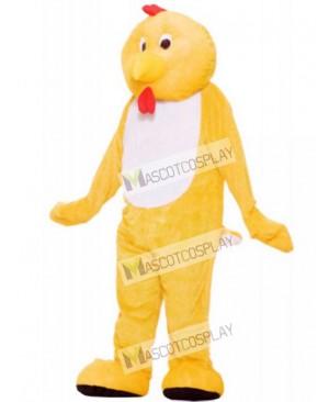Yellow Chicken Mascot Costume