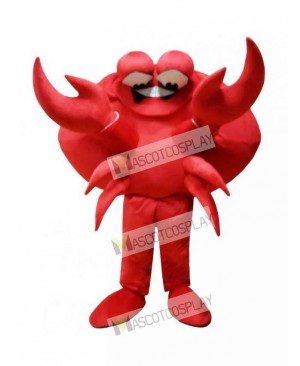 Red Crab Mascot Costume