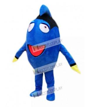 Finding Dory Regal Blue Tang Mascot Costume Cartoon Character