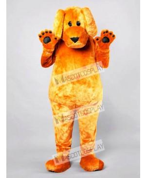 Cartoon Friendly Dog Adult Mascot Funny Costume