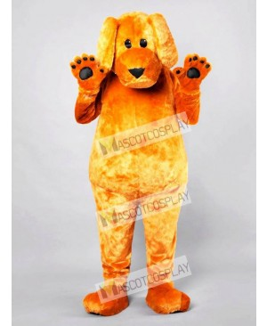 Cartoon Friendly Dog Adult Mascot Funny Costume