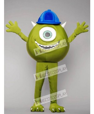 High Quality Adult Green Monster Mike Mascot Costume