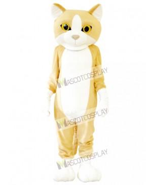 Happy Cat Mascot Adult Costume