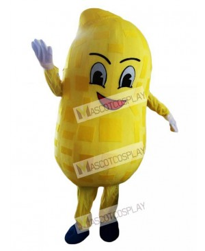 High Quality Yellow Peanut Mascot Costume