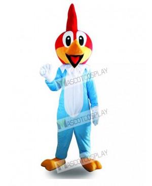 Funny Blue Duck Mascot Costume