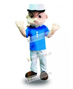 Popeye the Sailor Man Mascot Costume