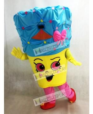 Cupcake Queen Girls Mascot Costume