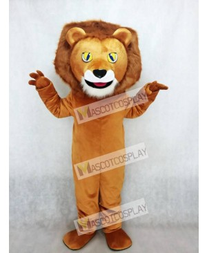 New Lewis The Lion Mascot Costume Animal
