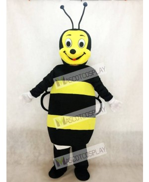 New Black and Yellow Bee Mascot Costume Insect