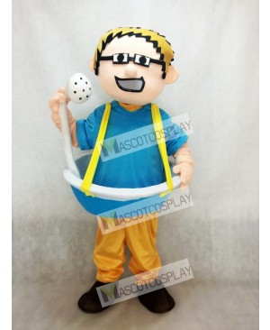 Bathtub Man plus Shower Head Mascot Costume