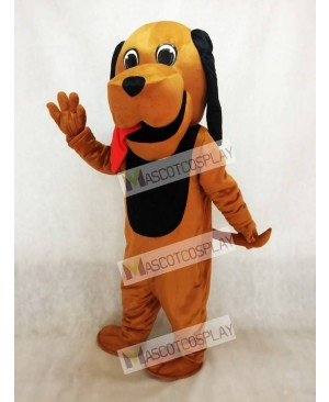 Red Tongue Hound Dog Mascot Costume