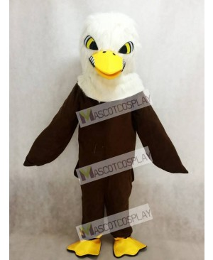 New Brown Feather Eagle Mascot Adult Costume Animal