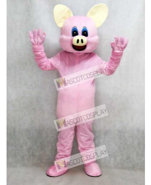 Pink Pig Mascot Adult Costume Animal