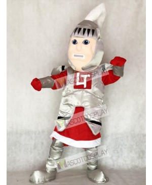 Red Cloak Adult Knight College of St Rose Mascot Costume
