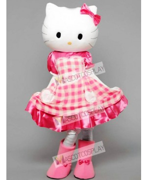 Kitty The Cat Adult Mascot Funny Costume
