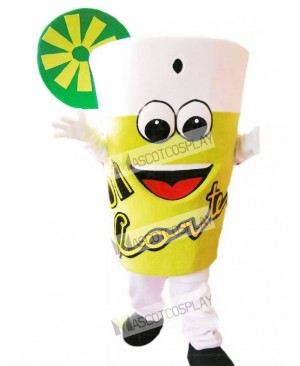 Yummy Lemonade Mascot Costume Drink