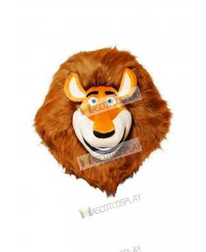 Madagascar Lion Mascot Costume HEAD ONLY