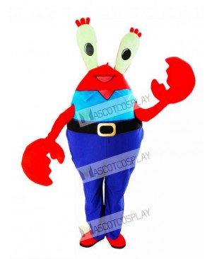 Mr. Krabs Crabs Mascot Costume