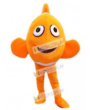 Finding Nemo Orange Ocellaris Clownfish Mascot Costume Cartoon Character Halloween