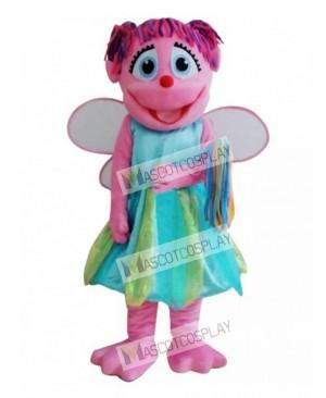 Pink Fairy Mascot Costume