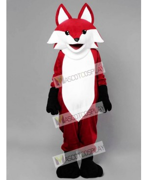 Realistic Red Fox Mascot Costume Animal