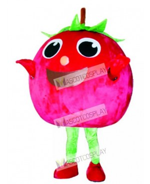 Red Tomato Mascot Costume Fruit