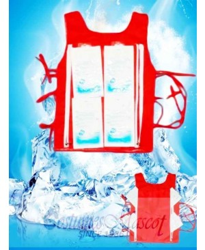 Cooling Vest Cooling Equipment With 8 Ice Bag For Mascot Costume