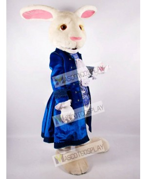 Easter White Rabbit Mascot Costume from Alice in Wonderland