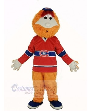 Montreal Canadians Mascot Costume Ice Hockey