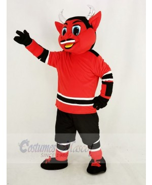 New Jersey Red Devil Mascot Costume