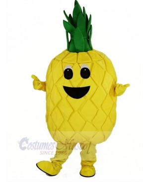 Pineapple Fruit Mascot Costume Cartoon