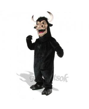 Cute Bull Mascot Costume