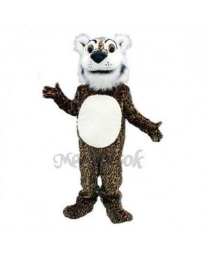 Cute Comic Leopard Mascot Costume