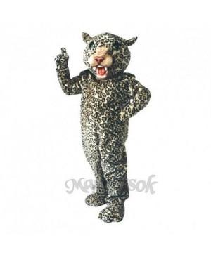 Cute Big Cat Leopard Mascot Costume