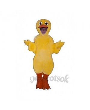Cute Duck Mascot Costume