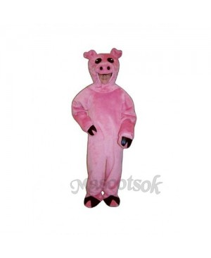 Cute Pig Mascot Costume