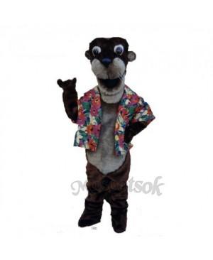 Otto Otter Mascot Costume