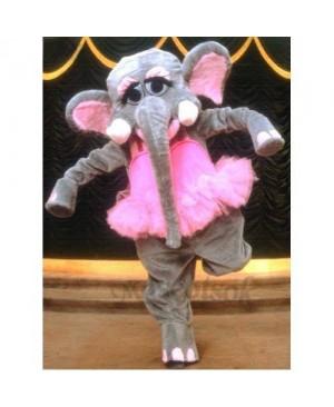 Cute Elephant Mascot Costume