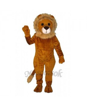 Cute Linus Lion Mascot Costume