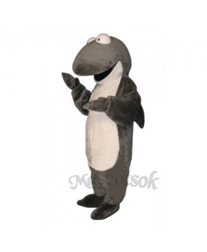 Cute Sharkie Shark Mascot Costume